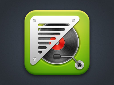 Vintage-Spotify-IOS-icon