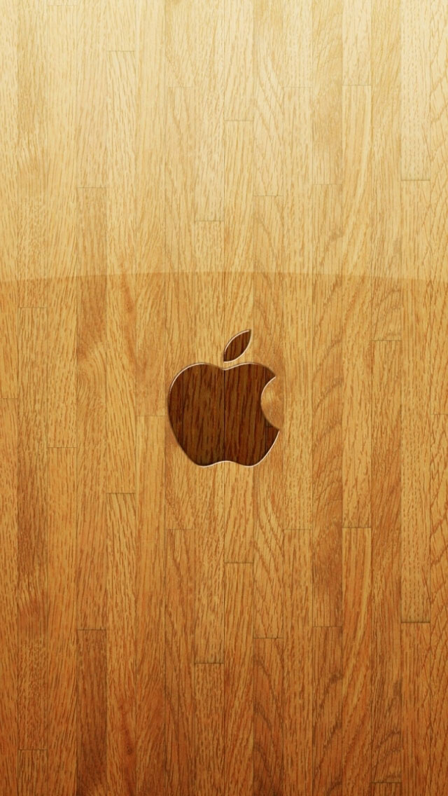 apple-iphone-5-wooden-background