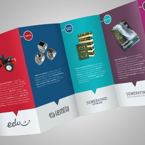 20 simple yet beautiful brochure design inspiration for Nice brochure templates