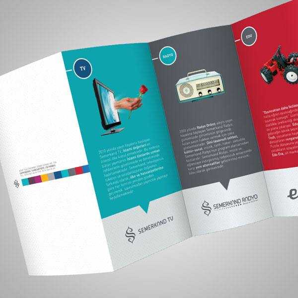 20 simple yet beautiful brochure design inspiration for Brochures design templates