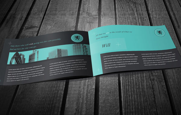 20+ Simple Yet Beautiful Brochure Design Inspiration & Templates