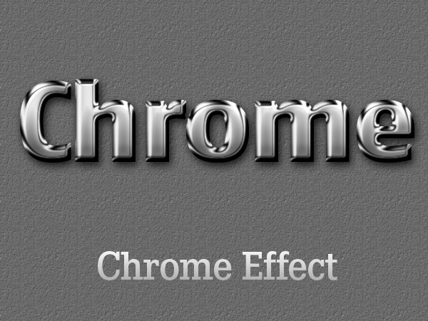 Chrome_Photoshop_Layer_Effect1