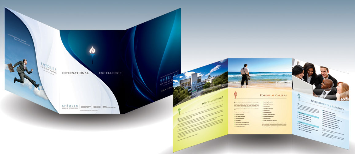 corporate tri fold brochure design ideas