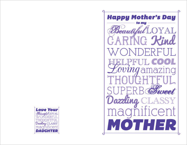 Happy mothers day Printable card ideas 31 Happy Mothers Day 2013 Pictures, Card Ideas, HD Wallpapers, Quotes & Facebook Covers