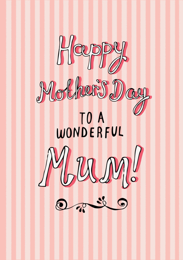 Happy mothers day to mum card Happy Mothers Day 2013 Pictures, Card Ideas, HD Wallpapers, Quotes & Facebook Covers
