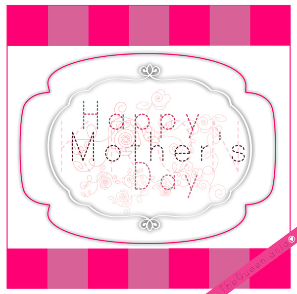 Happy mothers day with love 6 Happy Mothers Day 2013 Pictures, Card Ideas, HD Wallpapers, Quotes & Facebook Covers
