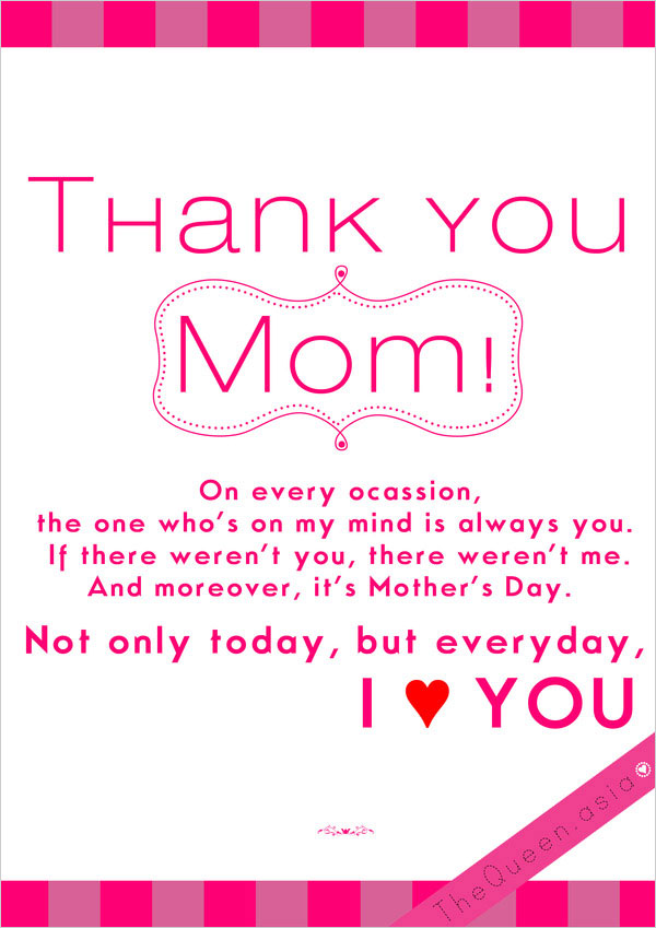 Pics Photos - Love You Mom Quotes For Facebook