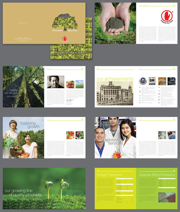 20 simple yet beautiful brochure design inspiration for Brochure design layout ideas