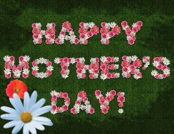 happy Mothers Day with flowers Happy Mothers Day 2013 Pictures, Card Ideas, HD Wallpapers, Quotes & Facebook Covers