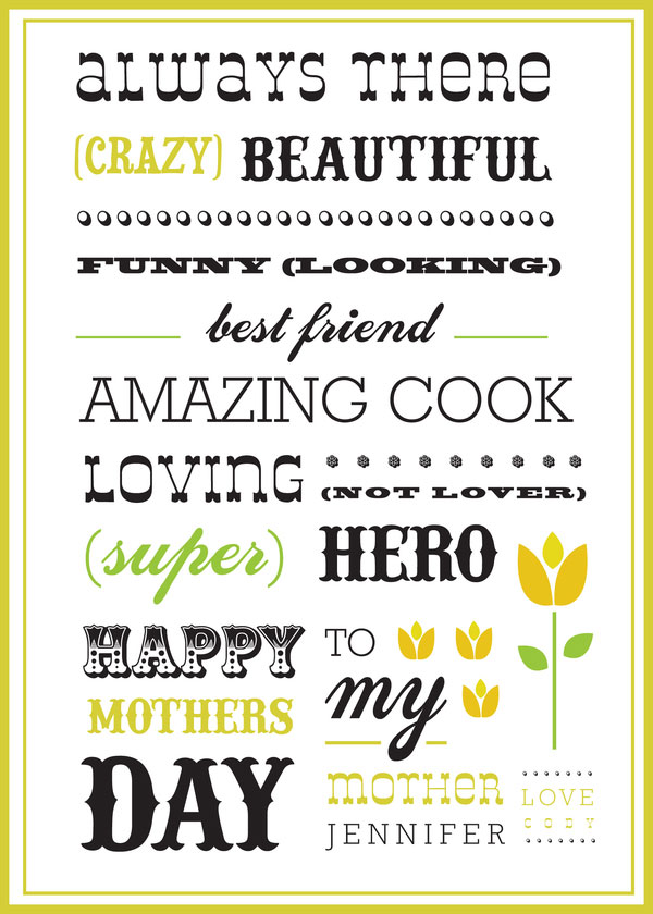 happy mothers day postcards 2013 4 Happy Mothers Day 2013 Pictures, Card Ideas, HD Wallpapers, Quotes & Facebook Covers