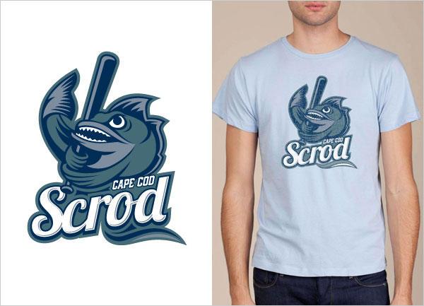 Cape-Cod-Scrod-logo-t-shirt