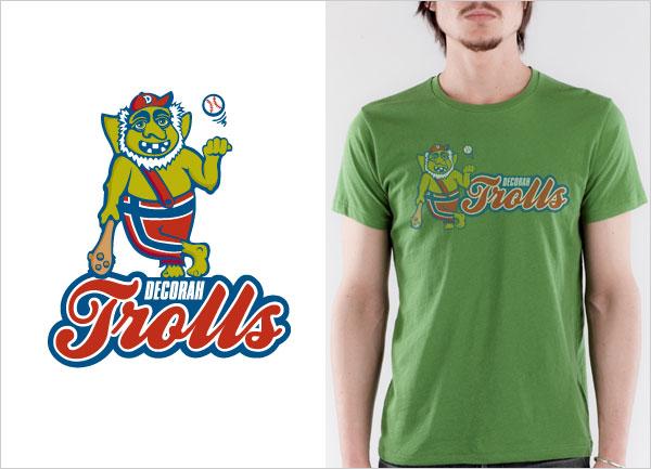Decorah_Trolls_Logo_T-shirt-logo-t-shirt