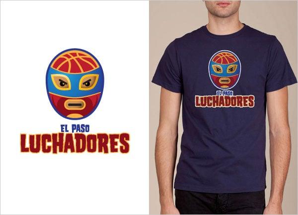 El-Paso-Luchadores-Logo-T-shirt