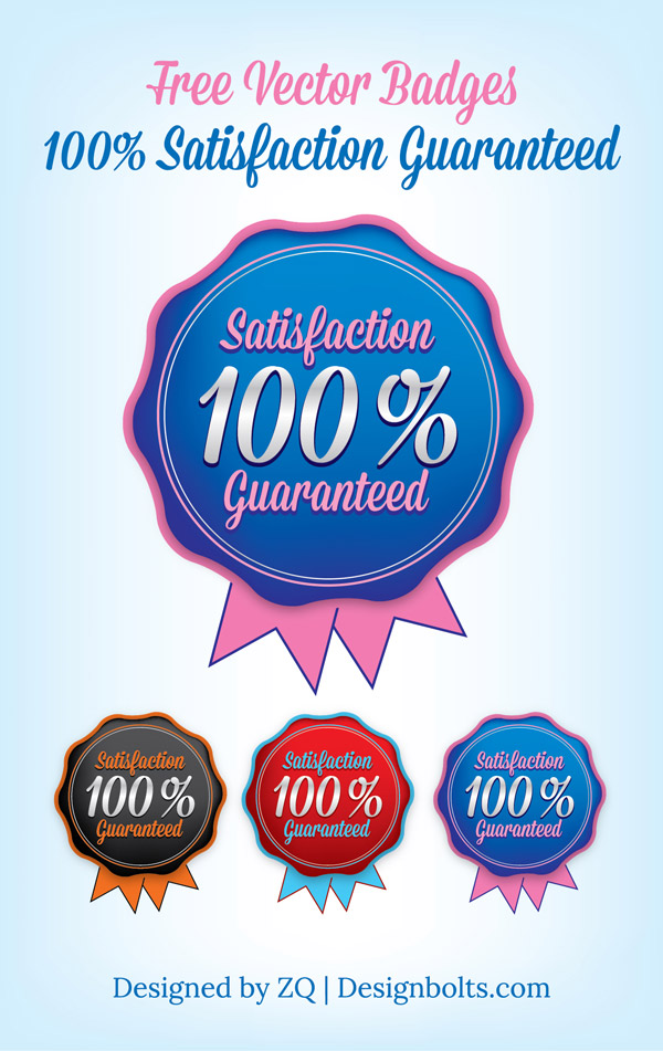 Free_Badge_Vector_100_Satisfaction_Guaranteed