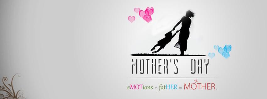 Happy Mother Day 2013 facebook fb timeline cover banners 81 كفرات للفيس بوك بمناسبه عيد الام 2015  اجمل كفرات عيد الام 2016