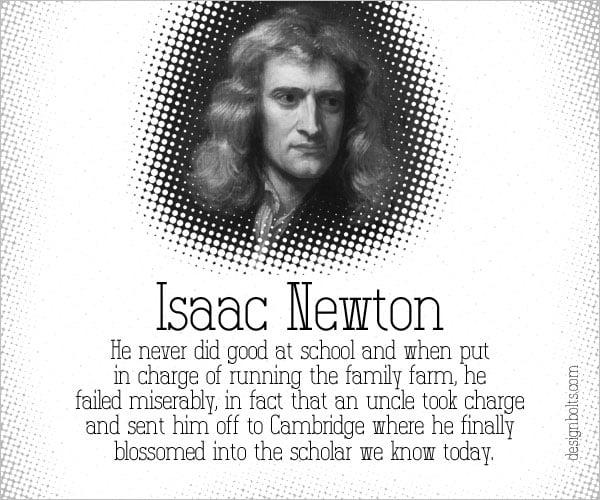Isaac-Newton-Famous-Failure