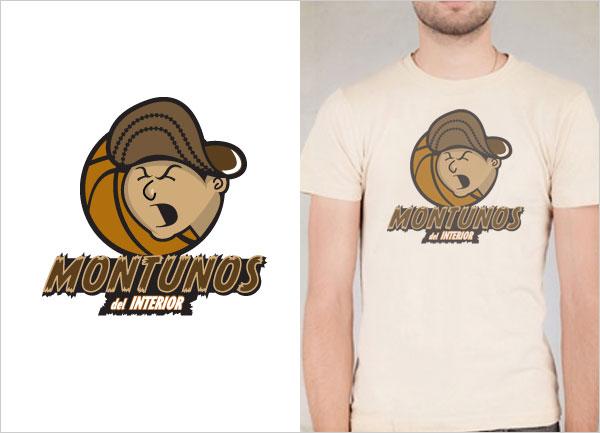 Montunos-Del-Interior-logo-t-shirt