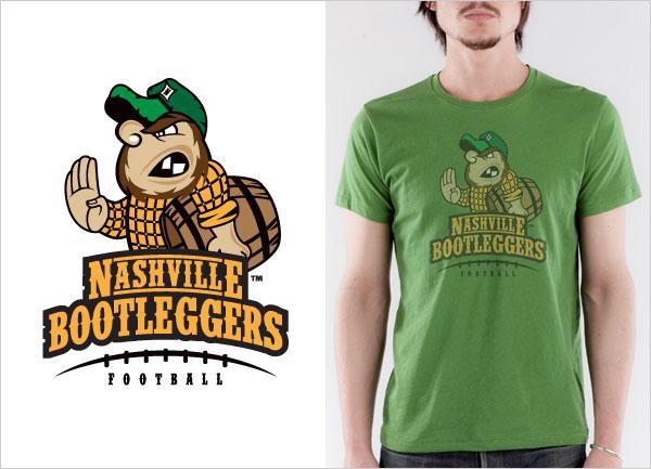 Nashville-Bootleggers-logo-t-shirt