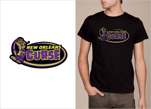 New-Orleans-Curse-logo-t-shirt