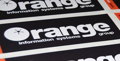 Orange-information-stickers