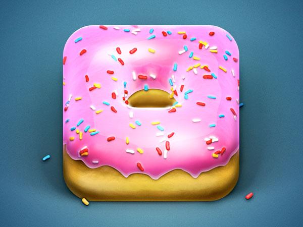 Stunning-Donut-iOS-app-icons