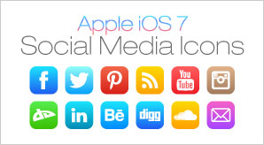 Apple-ios7-Social-Media-Icons-F