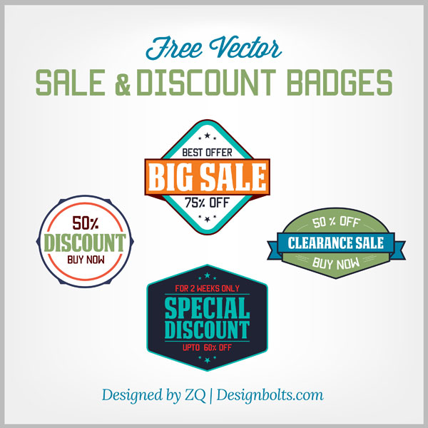 Free-Vector-Sale-&-Discount-Badges