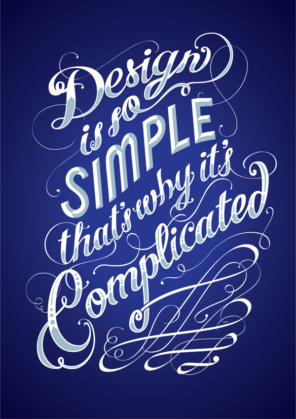 Inspirational Typography Design Posters For Graphic Designers 1 Inspirational Typography Design Quotes For Graphic Designers