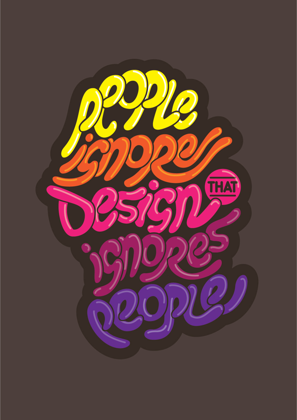 Inspirational Typography Design Posters For Graphic Designers 5 Inspirational Typography Design Quotes For Graphic Designers