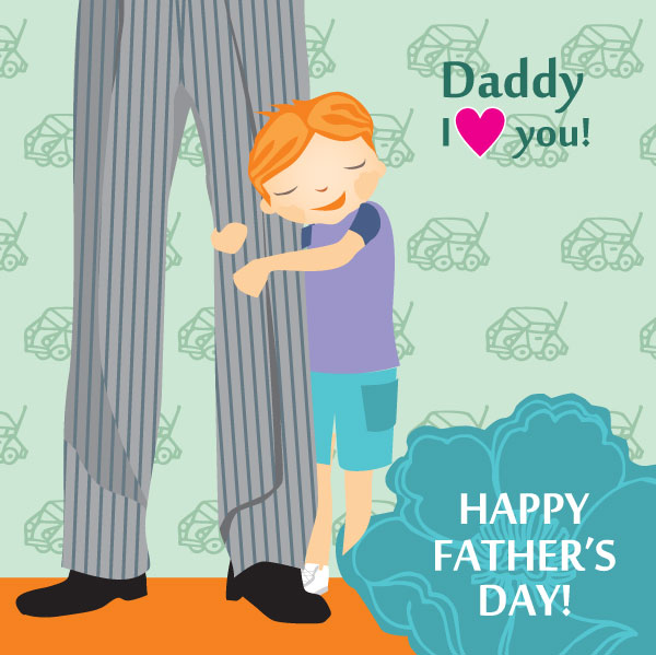 happy-fathers-day-vector-card-design-2