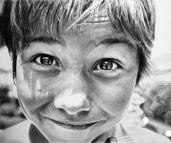 Beautiful-Photo-Realistic-Pencil-Drawing-2