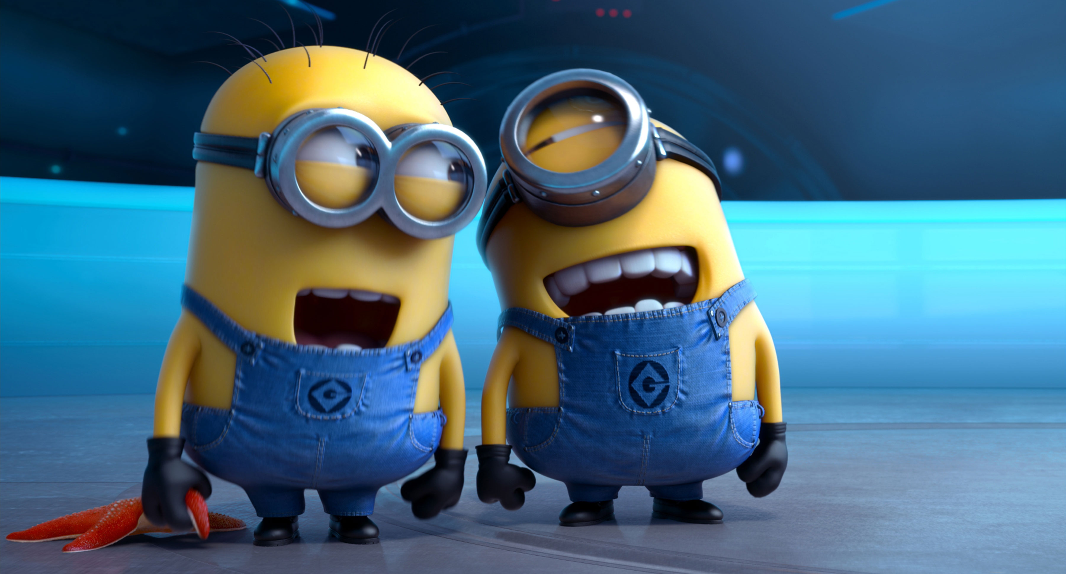 A Cute Collection Of Despicable Me 2 Minions Wallpapers