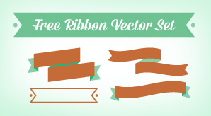 Free-Ribbon-Vector-&-Banner-Set-in-Ai,-EPS-Cdr