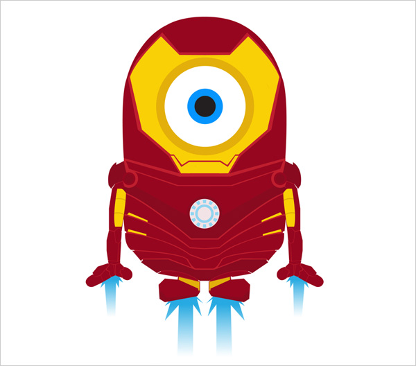 Minion-Iron-man