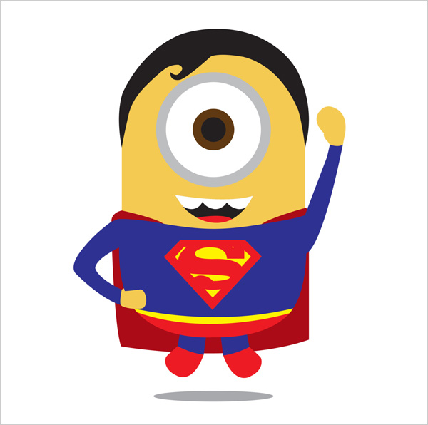 Minion-Superman-Man-of-Steel