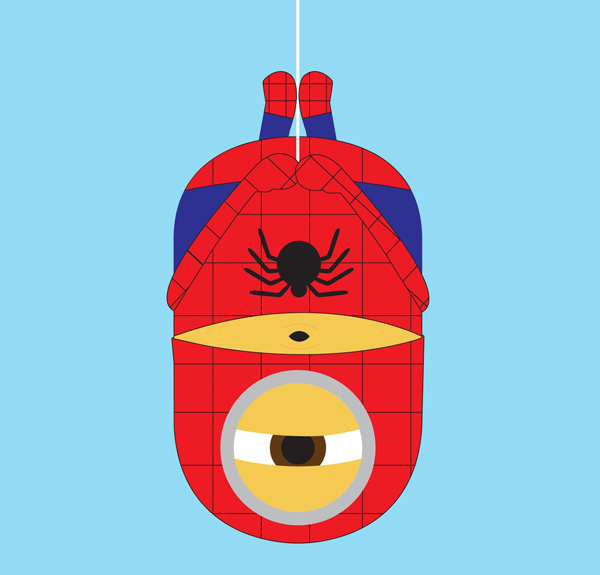 Minion-Spider-man