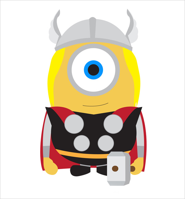 Minion-Thor-Wallpaper