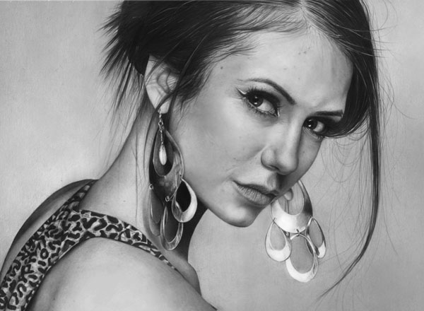 Nina_dobrev-Realistic-Pencil-Drawing