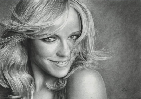Rachel-McAdams-Realistic-Pencil-Drawing
