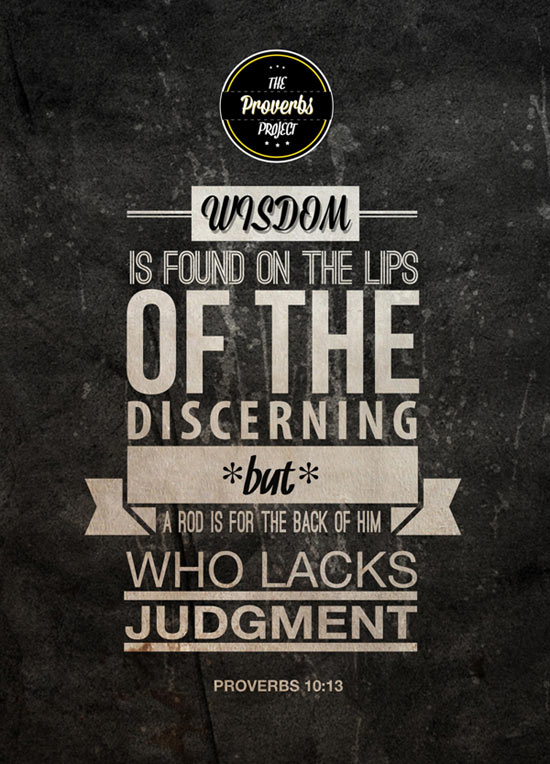 The Proverbs Project Thoughtful Wisdom Typography Quotes