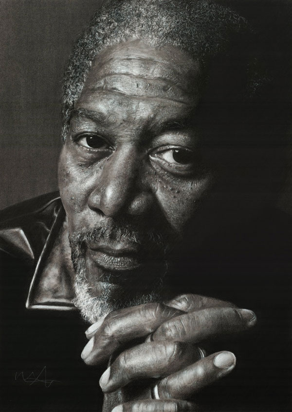 morgan_freeman_pencil-drawing
