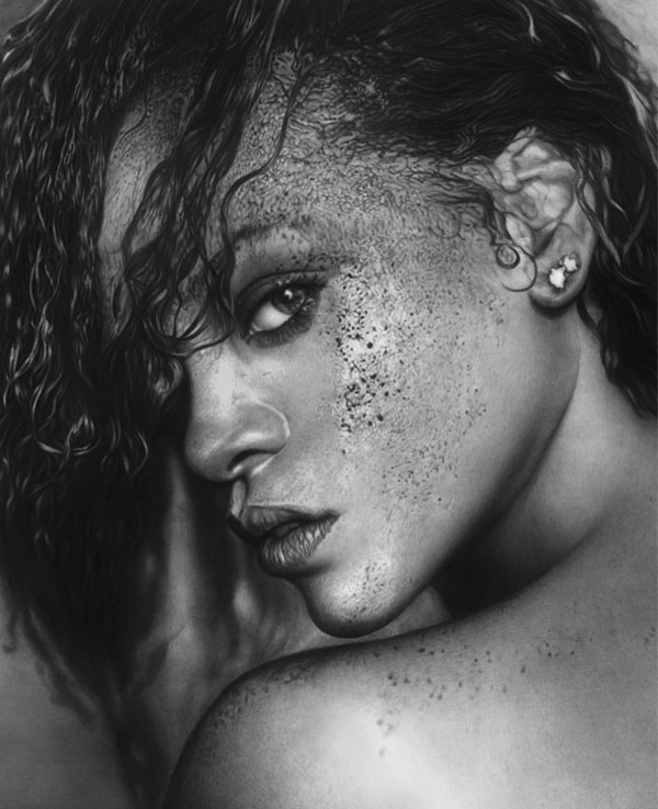 rihanna_Realistic-Pencil-Drawing
