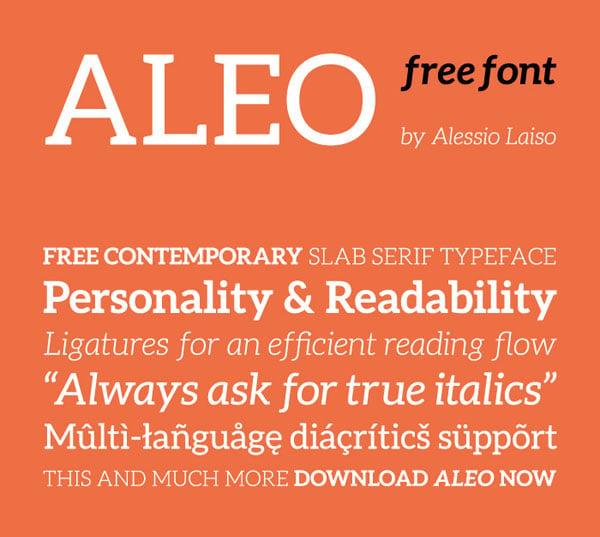Aleo-Free-Slab-Serif-Font
