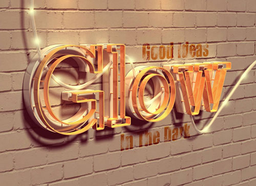 Beautiful_3D_Text-effect_Photoshop_CS6_Tutorial