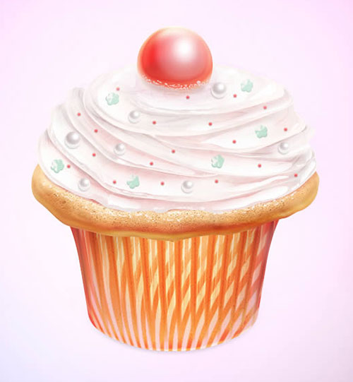 Cupcake-Icon-Design-Photoshop-CS6-Tutorial