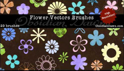 Flower_Vector_Photoshop_Brushes