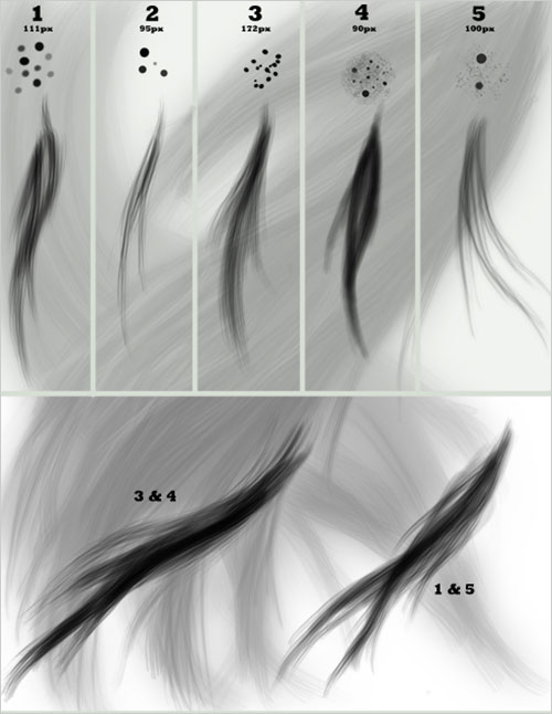 Free-Photoshop_Hair_brush_set