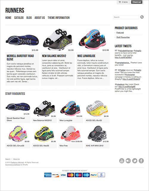 Free-e-commerce-template-for-Shoes-online-shop