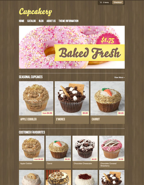 Free-e-commerce-template-for-bakery-shop