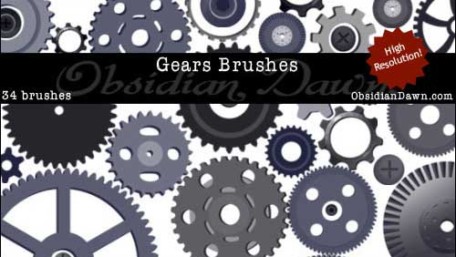 Free_Gears_Vectors_Photoshop_Brushes